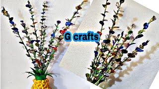 How To Make Flowers Out Of Candy Wrappers//Best Out Of Waste//chocolate Wrappers//waste Craft