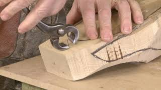 Making a 3D last from wood