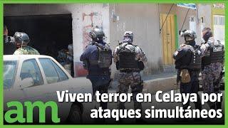 3  ATAQUES SIMULTÁNEOS en Celaya dejan 4 muertos