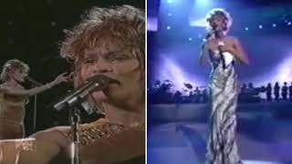 "Whitney Houston   ""I Will Always Love You"" Live (1996 VS 2001)"