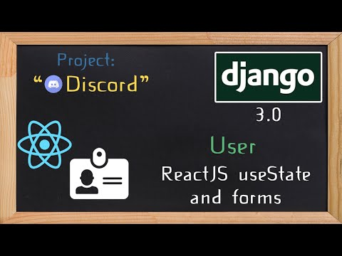 Django and ReactJS together - useState and forms  | 6 thumbnail