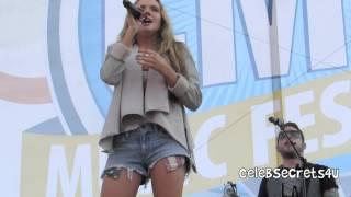 "Danielle Bradbery - ""Never Like This"" - 2014 CMA Fest"