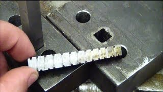 Machining 101: How to drill a square hole at home without special tools.