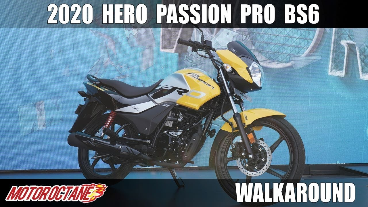 Motoroctane Youtube Video - 2020 Hero Passion Pro BS6 - Kya baat! Hindi | MotorOctane