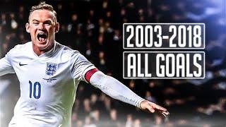 Wayne Rooney | All 53 Goals For England | Goodbye Legend | HD