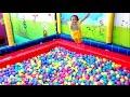 Mandi Bola Banyak Sekali Naik Odongodong Mobil Mainan Anak Play Balls Pit Show Mini Merry