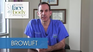 A Brow lift Candidate as Explained by Dr. Ross Clevens