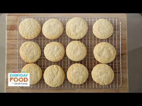 Old-Fashioned Lemon Sugar Cookie – Everyday Food with Sarah Carey