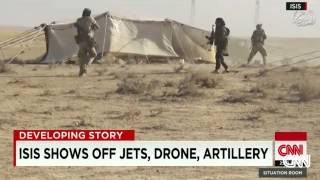 ISIS Flaunts Captured Jets And Artillery