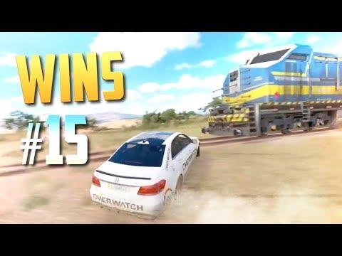 Racing Games WINS Compilation #15 (Close Calls, Drifts, Saves, Stunts & Epic Moments)