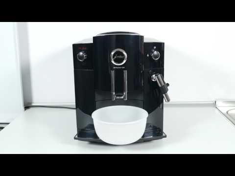 Reinigung der Jura Impressa C60 Kaffeemaschine anhand Reinigungstabletten