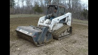 Renting a soil preparator