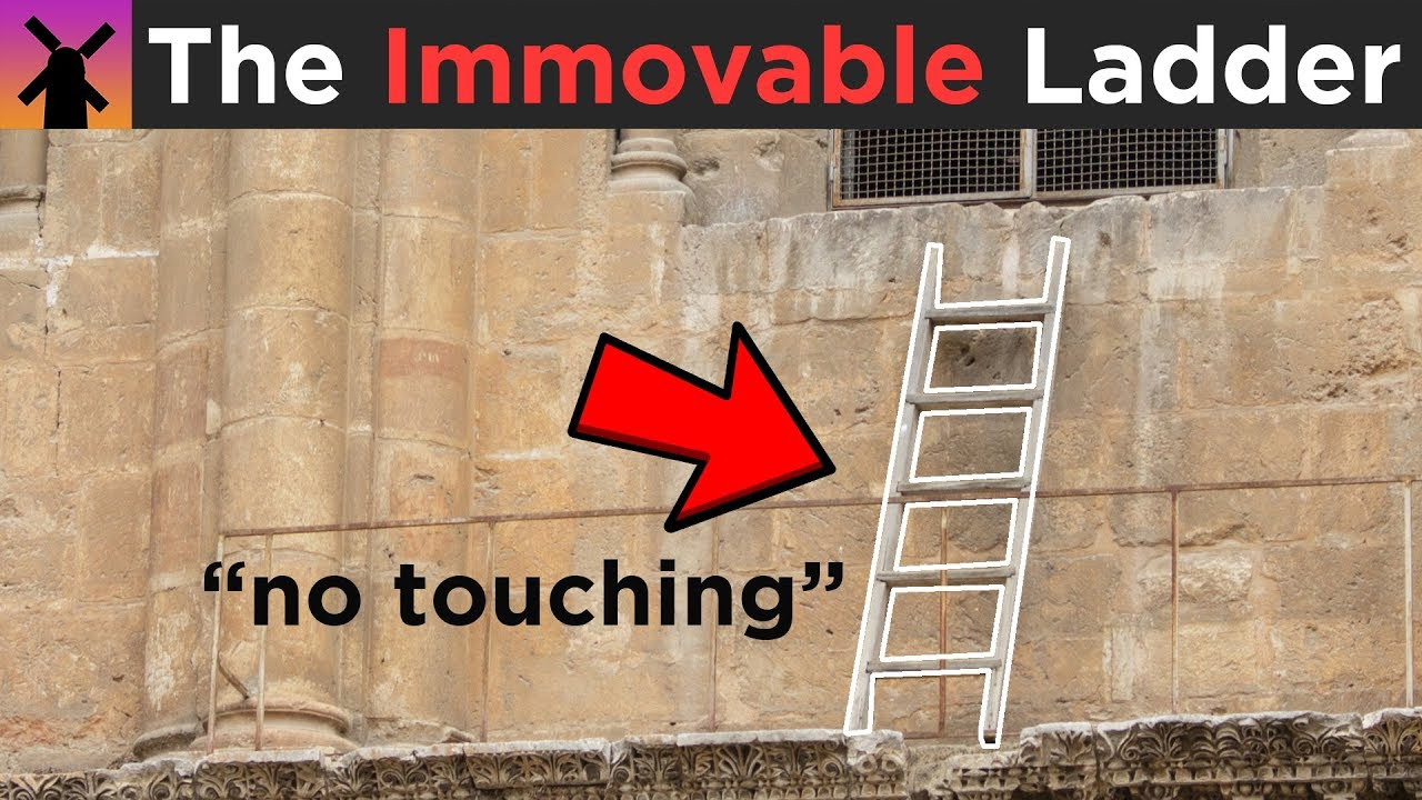 Why Nobody is EVER Allowed to Move This Ladder thumbnail