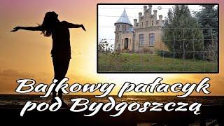 Bajkowy pałacyk myśliwski pod Bydgoszczą