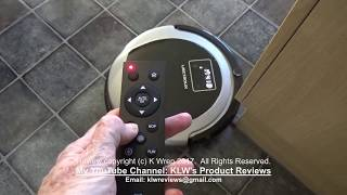 Review of Liectroux B6009 robot vacuum cleaner with mop