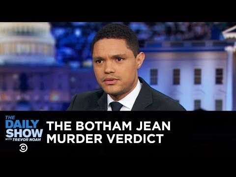 The Botham Jean Murder Verdict and Its Complex Emotional Aftermath  The Daily Show