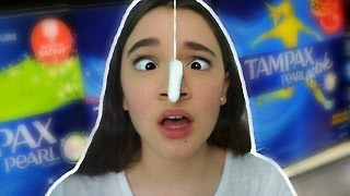 Trying TAMPON For The FIRST Time… Period Talk With FionaFrills