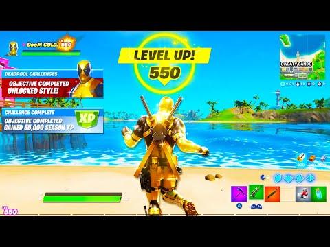i hit level 550 in fortnite this happened