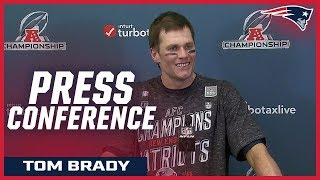 """Tom Brady on victory over Chiefs:  """"The odds were stacked against us''"""