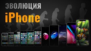 ЭВОЛЮЦИЯ IPhone: от IPhone 2G до IPhone X- обзор от Ники