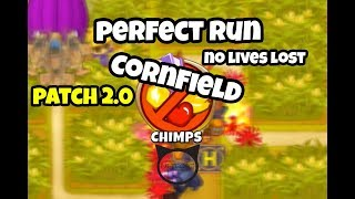 Bloons TD 6 - Beating Cornfield CHIMPS | BTD6 Strategy