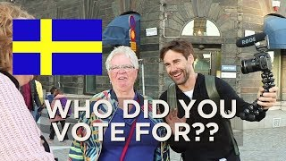 WHAT DO YOU THINK ABOUT THE SWEDISH ELECTION??   |  VLOG 112