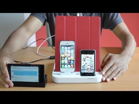 Ladestation für mehrere Smartphones und Tablets - PhotoFast UltraDock II