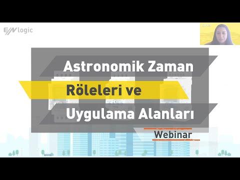 ENTES Webinar: Astronomik Zaman Röleleri ve Uygulama Alanları