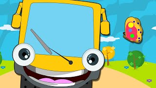 Hoopla Kidz - The Wheels Of The Bus Go Round And Round