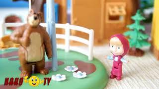 Мультики Игрушки Маша и Медведь новые серии 2017 года - У каждого своя веселуха!Развивающие мультики