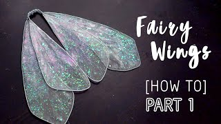 How To Make Fairy Wings For Blythe Doll - Part 1 DIY