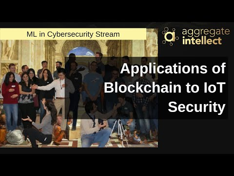 Applications of Blockchain to IoT Security | AISC