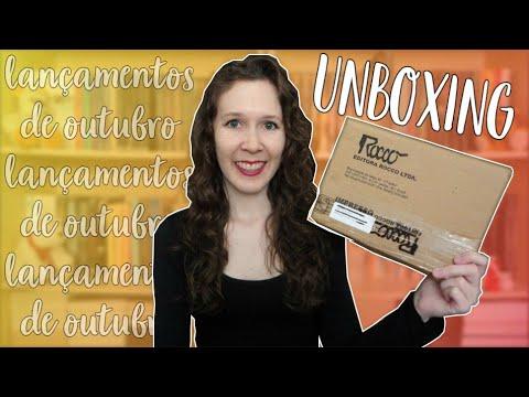 Unboxing | Lançamentos de Outubro | Leituras de Deni