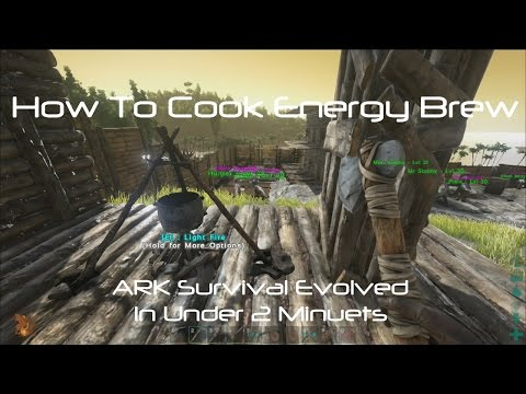 Video ARK Survival Evolved: How To Cook Energy Brew