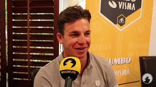"""Dylan Groenewegen gaat contract verlengen bij Jumbo-Visma: """"Heel erg naar mij zin bij de ploeg"""""""
