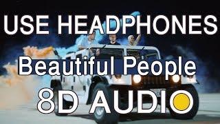 Ed Sheeran, Khalid   Beautiful People(8D AUDIO🎧)