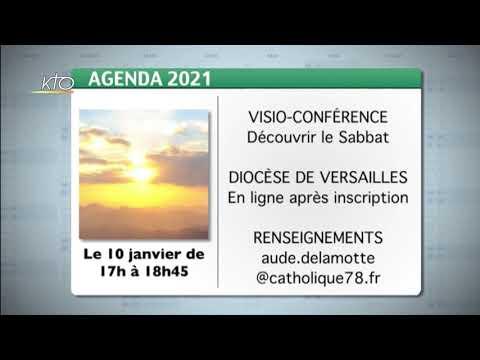 Agenda du 4 janvier 2021