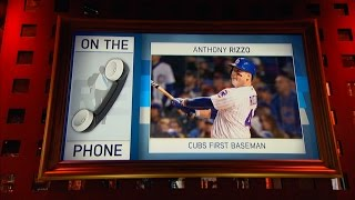 Chicago Cubs World Series Champion Anthony Rizzo on His Famous Speech & More - 3/21/17