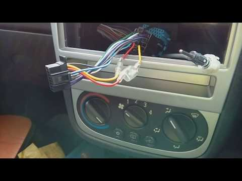 Corsa C 2000-2006 how to remove the radio & refit with part numbers needed.