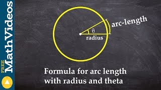 PC Unit 3   What is the formula for arc length with radius and theta