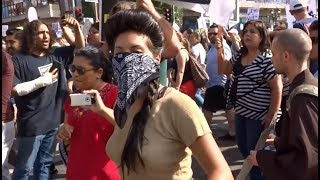 TRUMP SUPPORTERS TAKE ON THE DACA ILLEGAL ALIENS IN MACARTHUR PARK LOS ANGELES | Kholo.pk