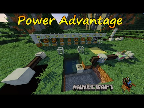 Minecraft 1.9 - Power Advantage Mod / Español