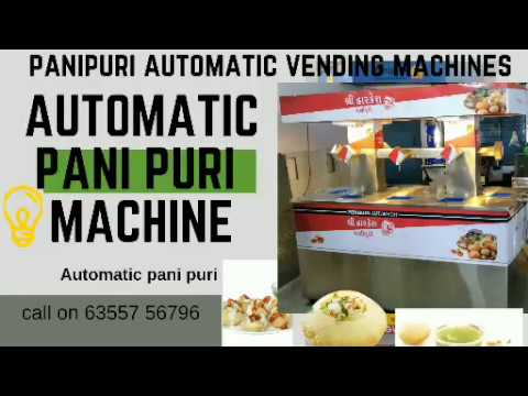 7 Nozzle Pani Puri Filling Machine