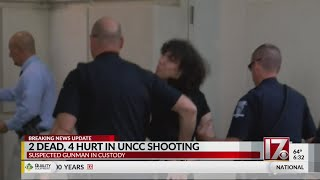 UNC Charlotte Shooting Suspect Charged With 2 Counts Of Murder