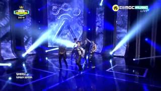 EXO-M - MAMA  (1120515 MBC Music Champion) [Live HD]