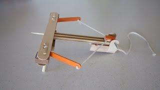 Make A Mini Wooden Ballista Catapult!