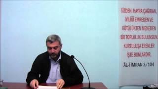 Şükrü Hüseyinoğlu ''Hz. İbrahim'in Mücadelesi Ve Günümüze Dersler''-Kur'an Nesli Kültür Merkezi