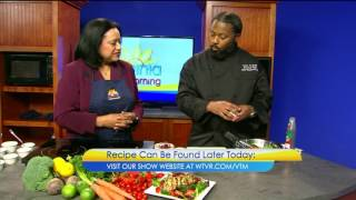 "Chef AriAnkh returns to ""Virgina This Morning"" with a Perfect Valentine's Dish"