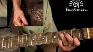 Country Blues Guitar Lesson - Down The Dirt Road Blues Breakdown - Paul Rishell