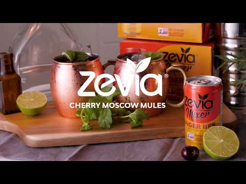 Zevia Sugar Free Cherry Mint Moscow Mules